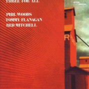 Red Mitchell, Phil Woods, Tommy Flanagan: Three For All - CD