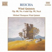 Reicha: Wind Quintets, Op. 88, No. 4 and  Op. 99, No. 6 - CD
