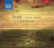 Klara Kormendi: Satie: Piano Works - CD