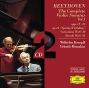 Wilhelm Kempff, Yehudi Menuhin: Beethoven: Violinsonaten I - CD