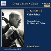 Bach, J.S.: Cello Suites Nos. 1-6 (Casals) (1927-1939) - CD
