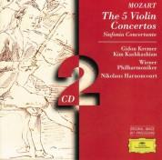 Gidon Kremer, Kim Kashkashian, Nikolaus Harnoncourt, Wiener Philharmoniker: Mozart: 5 Violin Concertos - CD