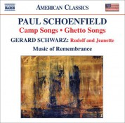 Music of Remembrance: Schoenfield, P.: Camp Songs / Ghetto Songs / Schwarz, G.: Rudolf and Jeanette - CD