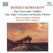 Rimsky-Korsakov: Pan Voyevoda / Sadko / May Night - CD