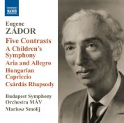 Mariusz Smolij: Zador: Aria and Allegro - 5 Contrasts - Children's Symphony - CD