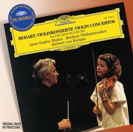 Anne-Sophie Mutter, Berliner Philharmoniker, Herbert von Karajan: Mozart: Violin Concertos - CD
