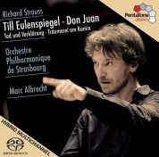 Marc Albrecht, Orchestre Philarmonique de Strasbourg: Strauss: Till Eulenspiegel, Don Juan Op.20 - SACD