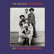 The Meters: People Say / Funky Meters' Soul (45 Rpm) - Single Plak