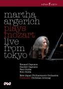 Mozart: Martha Argerich plays Mozart live from Tokyo - DVD