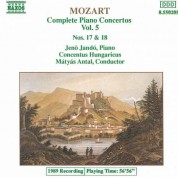 Mozart: Piano Concertos Nos. 17 and 18 - CD
