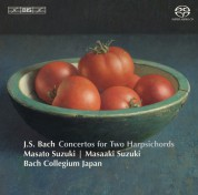 Bach Collegium Japan, Masaaki Suzuki: J.S. Bach: Concertos for Two Harpsichords - SACD