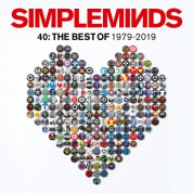 Simple Minds: 40: The Best Of Simple Minds (Limited Edition Silver Vinyl) - Plak