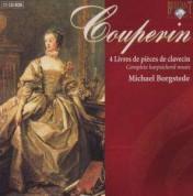 Michael Borgstede: Couperin: Livres de Clavecin 1-4 - CD