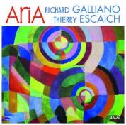 Richard Galliano, Thierry Escaich: Aria - CD