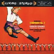 London Symphony Orchestra, Jean Martinon: Borodin, Rimsky - Korsakov: Symphony No. 2, Capriccio Espagnol op. 34 - Plak
