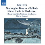 Bjarte Engeset: Grieg: Orchestral Music, Vol. 2 - Orchestrated Piano Pieces - CD