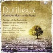 Soloists of the Accademia Nazionale di Santa Cecilia, Andrea Oliva, Francesco Di Rosa, Francesco Bossone, Akanè Makita: Dutilleux: Chamber Music with Piano - CD