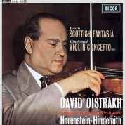 David Oistrakh, London Symphony Orchestra, Jascha Horenstein, Paul Hindemith: Bruch: Scottish Fantasia - Plak