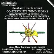 Anna-Maija Korsima-Hursti, László Hara, Tapiola Sinfonietta, Osmo Vänskä: Crusell: Concertante Wind Works - CD