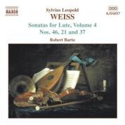 Robert Barto: Weiss, S.L.: Lute Sonatas, Vol.  4  - Nos. 21, 37, 46 - CD