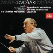Czech Philharmonic Orchestra, Sir Charles Mackerras: Dvorak: Symphonic Variations - CD