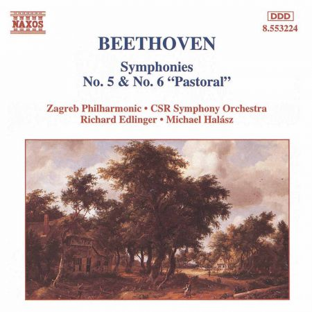 Zagreb Philharmonic Orchestra: Beethoven: Symphonies Nos. 5 and 6 - CD