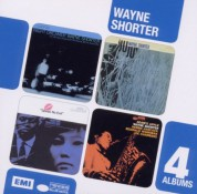 Wayne Shorter: 4in1 Album Boxset (Night Dreamer/Juju/Speak No Evil/Adam's Apple) - CD