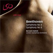 London Symphony Orchestra, Bernard Haitink: Beethoven: Symphonies Nos 4 & 8 - CD
