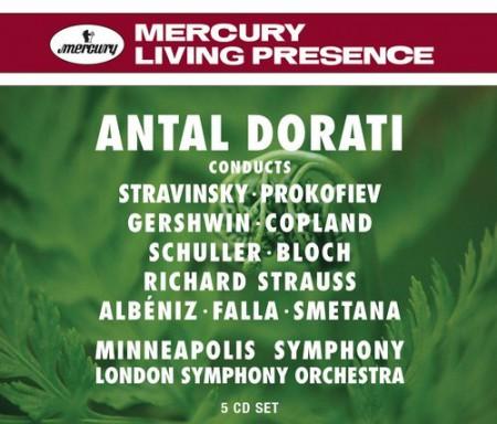 Antal Doráti, London Symphony Orchestra, Minneapolis Symphony Orchestra: Antal Dorati Conducts - London Symphony Orchestra - CD