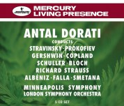 Antal Doráti, London Symphony Orchestra, Minneapolis Symphony Orchestra: Antal Dorati Conducts - London Symphony Orchestra - CD