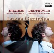 Lukas Geniušas: Piano Sonata Op.1 * Hammerklavier Sonata - CD