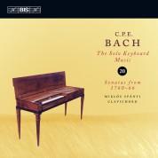 Miklós Spányi: C.P.E. Bach: Solo Keyboard Music, Vol. 20 - CD