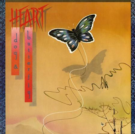 Heart: Dog & Butterfly - Plak