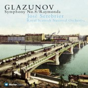 Royal Scottish National Orchestra, Jose Serebrier: Glazunov: Symphony No.8, Raymonda - CD