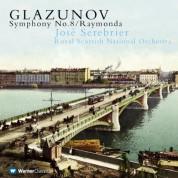 Royal Scottish National Orchestra, Jose Serebrier: Glazunov: Symphony No.8, Raymonda - CD