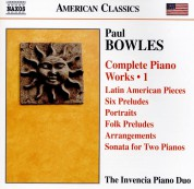 The invencia Piano Duo: Bowles: Com. Piano Works Vol.1 - CD