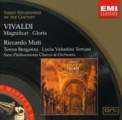 Teresa Berganza, Lucia Valentini Terrani, Philharmonia Chorus, Philharmonia Orchestra, Riccardo Muti: Vivaldi: Magnificat, Gloria - CD