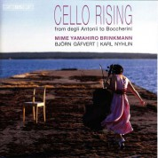 Mime Yamahiro Brinkmann, Björn Gäfvert, Karl Nyhlin: Cello Rising - SACD