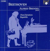 Alfred Brendel: Beethoven: Piano Variations, Bagatelles - CD