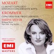 Sabine Meyer, Wolfgang Meyer, Staatskapelle Dresden, Württembergisches Kammerorchester Heilbronn, Hans Vonk, Jörg Faerber: Mozart/ Krommer: Clarinet Concertos - CD