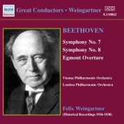 Beethoven: Symphonies Nos. 7 and 8 (Weingartner) (1936) - CD