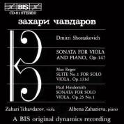 Zahari Tchavdarov, Albena Zaharieva: (Un)accompanied Viola - CD