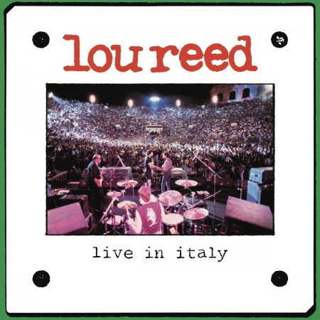 Lou Reed: Live in Italy - Plak