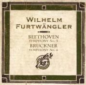 Berliner Philharmoniker, Wilhelm Furtwängler: Beethoven/ Bruckner: Sym. No.5,/Sym. No.6 - CD