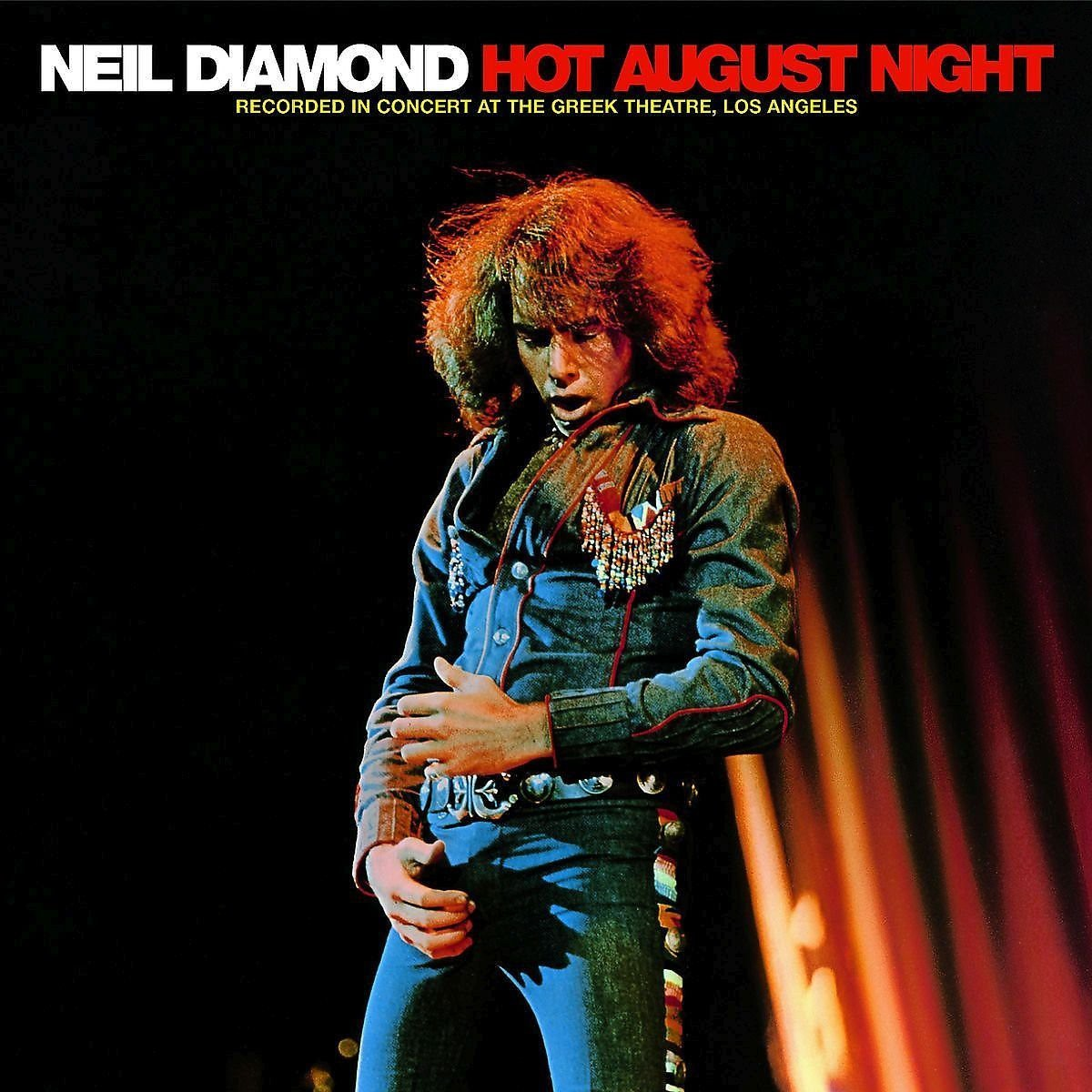 Neil Diamond Hot August Night Remastered Plak Opus3a
