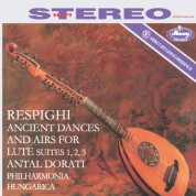 Philharmona Hungarica, Antal Doráti: Respighi: Ancient Airs And Dances For Lute And Orchestra - Plak