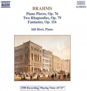 İdil Biret: Brahms: Piano Pieces Op. 76, 79 - CD