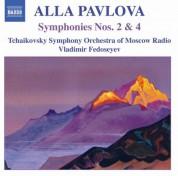 Vladimir Fedoseyev, Tchaikovsky Symphony Orchestra of Moscow Radio: Pavlova: Symphonies Nos. 2 and 4 - CD