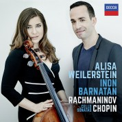 Alisa Weilerstein, Inon Barnatan: Rachmaninov, Chopin: Cello Sonatas - CD