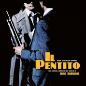 Ennio Morricone: Il Pentito (The Repenter) (Silver & Black Marbled Vinyl) - Plak